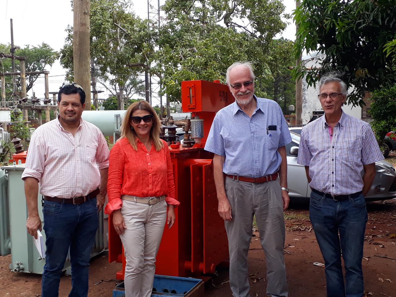 El presidente de Energía de Misiones recorrió las obras que se ejecutarán en Puerto Iguazú