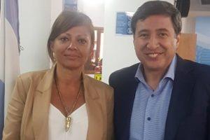 Reuniones de la presidenta del Tribunal de Cuentas con Ministros de la Nación