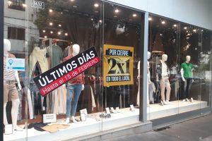 Crisis: por bajas ventas cierra el outlet de Zara en Posadas
