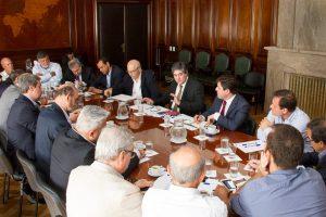 Lanziani se reunió con representantes de la Liga Bioenergética