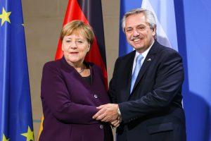 Merkel respaldó a la Argentina y prometió inversiones