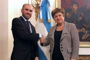 """Guzmán ya habló con la titular del FMI y aseguró que hay """"entendimiento mutuo"""""""