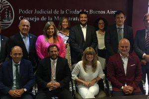 Froilán Zarza representó a Misiones en reunión federal de magistrados