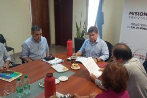 UPCN acordó con Salud Pública 100 pases a planta y contratación de 500 promotores de salud