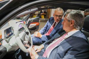 Inversión de U$S 800 millones en Argentina: El Presidente se reunió con ejecutivos de Volkswagen