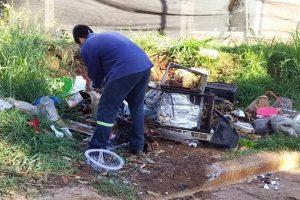 Se realizan operativos de limpieza para controlar la reproducción del Aedes aegypti