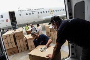 El Gobierno envió respiradores e insumos sanitarios a Misiones