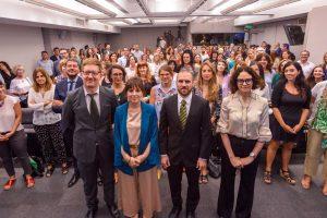 La misionera Mercedes D'Alessandro y Martín Guzmán lanzaron la Dirección de Economía, Igualdad y Género