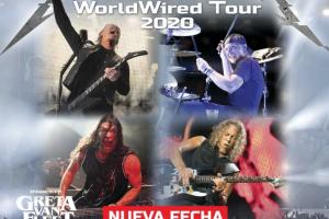 Metallica visitará Argentina en diciembre