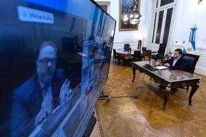 Congreso online: El oficialismo logró avanzar en un protocolo de sesión virtual