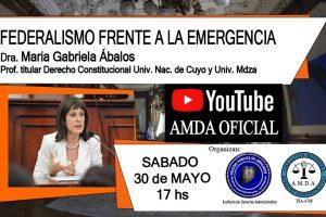 Disertarán sobre el Federalismo frente a la emergencia