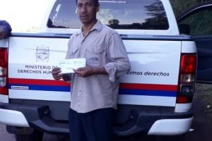 Habilitaron las tarjetas de asistencia social para comunidades guaraníes