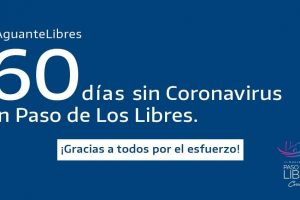 Paso de los Libres logró 60 días sin casos de coronavirus
