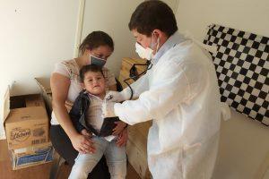 Operativo de salud en el Nemesio junto a Barrios Activos