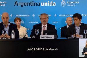 Alberto Fernández anunció que la cuarentena sigue hasta el 24 de mayo con algunas aperturas