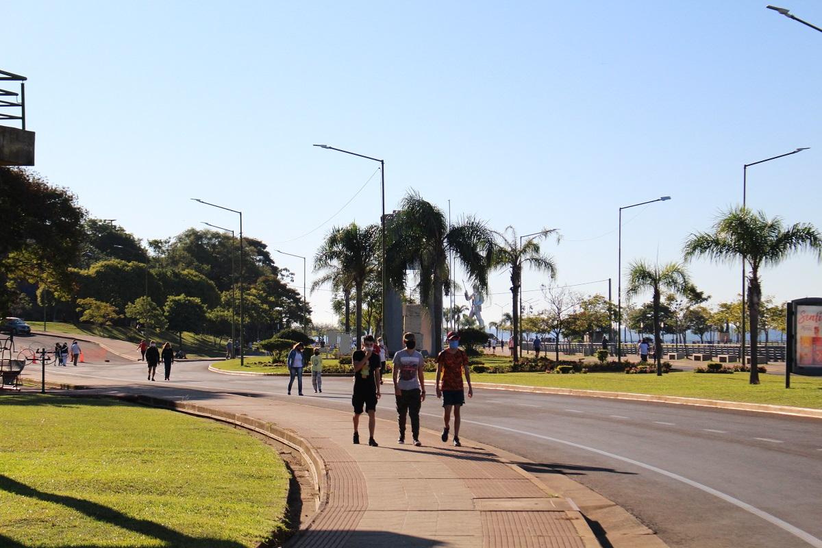 Más de 8 mil personas realizaron caminatas recreativas en Posadas