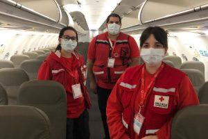 JetSMART suma a la Cruz Roja en sus vuelos, también en Argentina