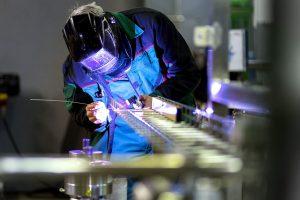 Aun con aperturas, el uso de la capacidad instalada industrial continuó por debajo del 50%
