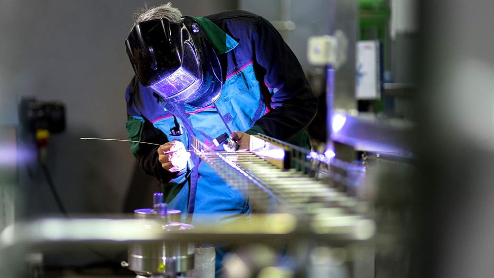 Industria: uso de capacidad instalada trepó al 63,3% en noviembre, el mayor nivel en dos años