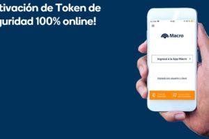 En Banco Macro ahora activas el token de seguridad desde tu teléfono celular