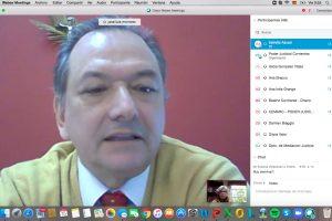 Responsables de mediación de las Cortes se reúnen gracias a la virtualidad