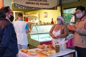 Mercado Concentrador de Posadas: gran afluencia de  compradores y todos los productores presentes