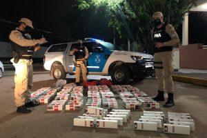 Prefectura secuestró más de 9.000 atados de cigarrillos ingresados al país de manera ilegal