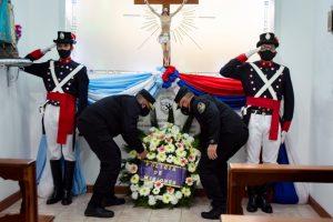 Con una ofrenda floral, la Policía de Misiones conmemoró sus 164 años