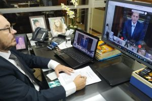 Diputados misioneros participan de la primera sesión virtual de la historia