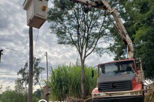 Energía de Misiones incorporó equipamiento en Irigoyen y San Pedro