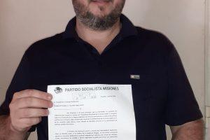 El Partido Socialista Misiones presentó proyecto para la creación de un Parlamento Municipal de la Tercera Edad