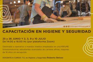 Capacitación en Higiene y Seguridad para el sector forestal