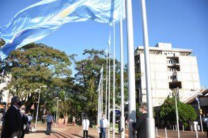 Oberá homenajeó a Belgrano a 200 años de su fallecimiento