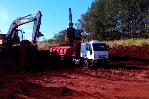 Vialidad Provincial trabaja en el acceso a Colonia Guaraypo