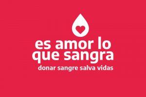 """Salud lanza la campaña """"Es amor lo que sangra"""" para promover la donación de sangre"""