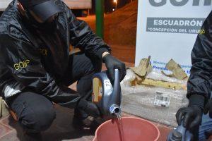 Gendarmería incautó 18 litros de ketamina en Entre Ríos