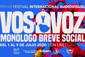 Festival Audiovisual Internacional VOS & VOZ: Monólogo Breve Social