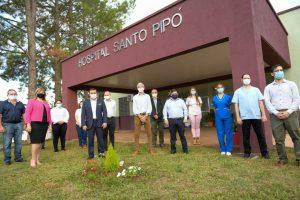 Herrera Ahuad inauguró el nuevo Hospital de Santo Pipó