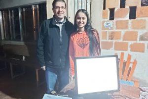 Arauco Argentina entregó computadoras a alumnos  e instituciones con las que colabora