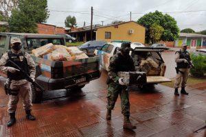 Megaoperativo en Misiones: Prefectura decomisó más de una tonelada de marihuana