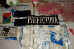 Posadas: Prefectura incautó cocaína y detuvo a 4 personas