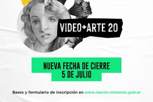 "Se prorrogó el concurso ""Video+arte 20"""