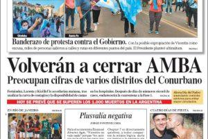 Las tapas del domingo 21: banderazo con Vicentín como símbolo y endurecimiento en AMBA