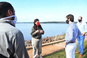 Yacyretá: Barrios Arrechea visitó reservas, obras y proyectos energéticos