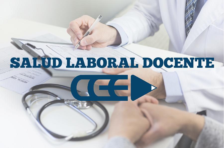 El programa de Salud Laboral Docente realiza juntas médicas online
