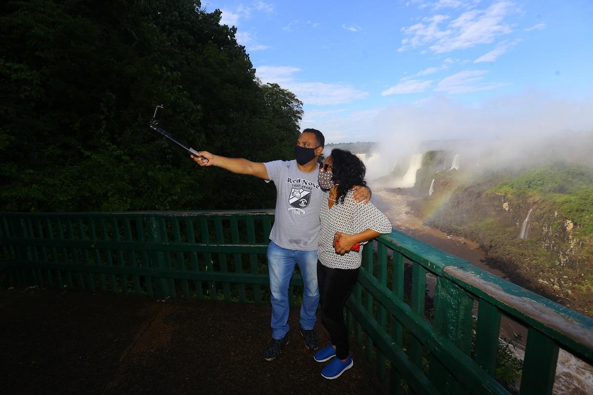 Las Cataratas del Iguazú volvieron a recibir público del lado brasileño