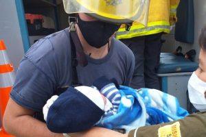 Trabajo mancomunado en la asistencia a una mamá y su bebé de la Aldea Yacutinga