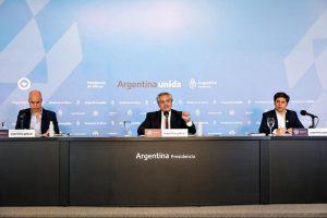 Fernández destacó que el Estado invirtió 2,6% del PBI en ayuda para afectados por la pandemia