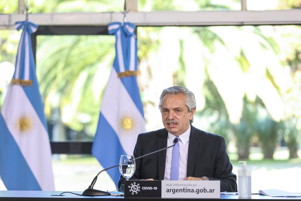 """""""Los argentinos quieren que dejemos de pelearnos"""", dijo Fernández ante líderes parlamentarios"""