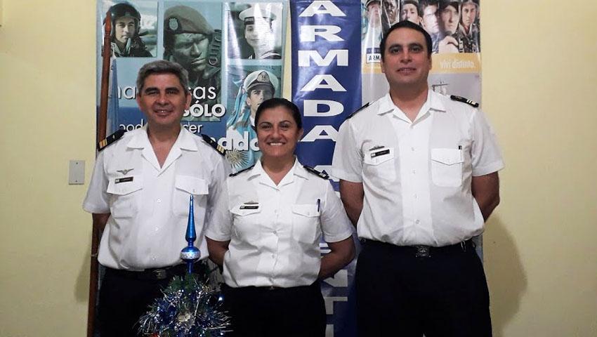 """""""Si volviera a tener 18 años, volvería  a elegir a la Armada Argentina"""""""